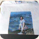DTG printed photo t-shirt